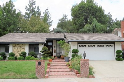 Porter Ranch Single Family Home For Sale: 11921 Sonoma Way