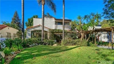 Toluca Lake Single Family Home For Sale: 11035 Blix Street