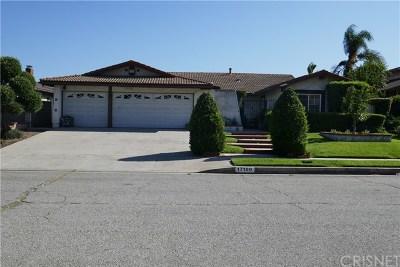 Northridge Single Family Home For Sale: 17100 Gledhill Street
