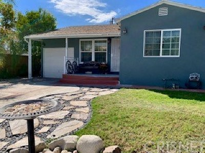 North Hollywood Single Family Home For Sale: 6023 Ensign Avenue