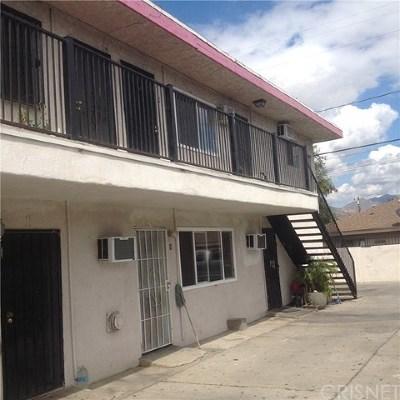 Pacoima Multi Family Home For Sale: 10028 San Fernando Road