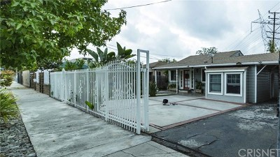 North Hollywood Single Family Home For Sale: 11320 Kittridge Street