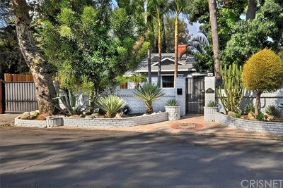 Valley Village Single Family Home For Sale: 11637 Hortense Street