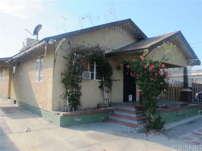 San Fernando Single Family Home For Sale: 1120 Kewen Street