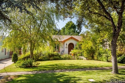 Pasadena Single Family Home For Sale: 1159 N Chester Avenue