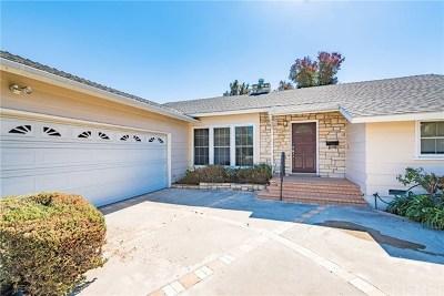 Valley Glen Single Family Home For Sale: 13534 Gault Street