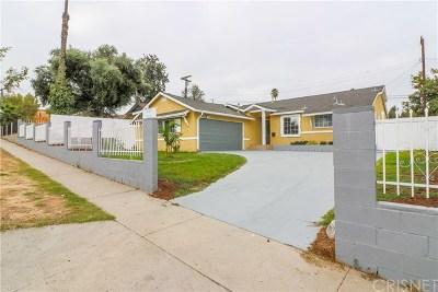 Pacoima Single Family Home For Sale: 11005 Borden Avenue