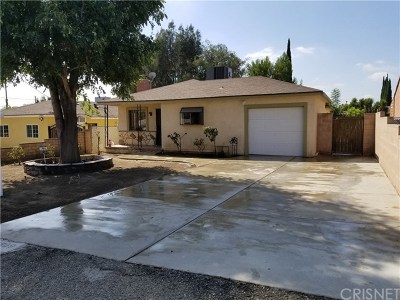 Sylmar Single Family Home For Sale: 13809 Dronfield Place