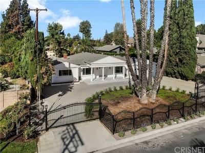 Northridge Single Family Home For Sale: 9403 Vanalden Avenue