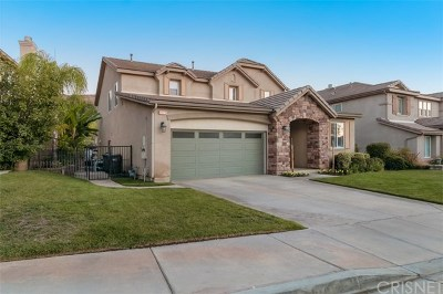 Saugus Single Family Home For Sale: 29172 Discovery Ridge Drive