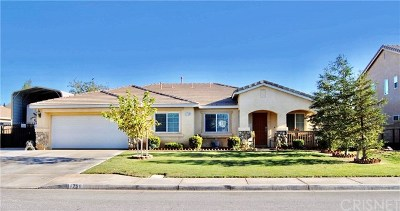 Palmdale, Lancaster, Quartz Hill, Leona Valley, Lake Elizabeth, Lake Hughes, Antelope Acres, Rosamond, Littlerock, Juniper Hills, Pearblossom, Lake Los Angeles, Wrightwood, Llano Single Family Home For Sale: 1756 Thomas Drive