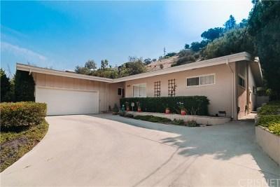 Sherman Oaks Single Family Home For Sale: 3658 Ventura Canyon Avenue
