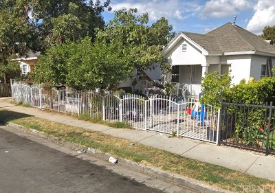 Los Angeles Multi Family Home For Sale: 781 E 41st Street