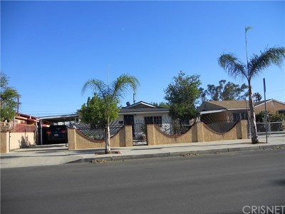 Pacoima Single Family Home Active Under Contract: 13298 Louvre Street