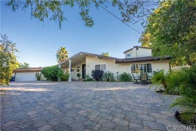 Woodland Hills Single Family Home For Sale: 22842 Hatteras Street