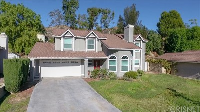 Canyon Country Single Family Home For Sale: 29434 Poppy Meadow Street
