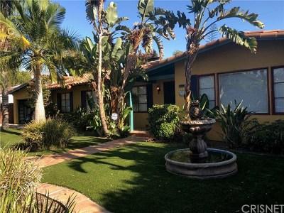 Lake Balboa Single Family Home For Sale: 15814 Gault Street