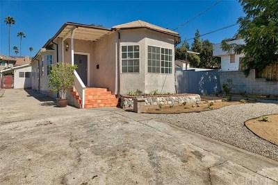 Pasadena Single Family Home For Sale: 225 Pepper Street