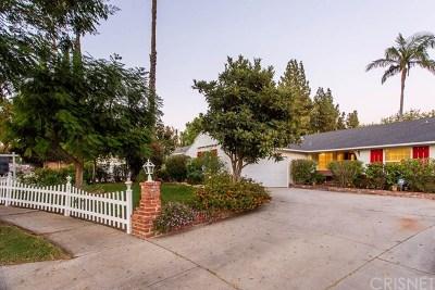 Northridge Single Family Home For Sale: 8306 Nestle Avenue