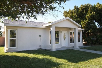 Burbank Single Family Home For Sale: 1303 N Lincoln Street