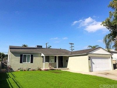Panorama City Single Family Home For Sale: 8159 Woodman Avenue