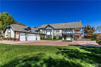 Canyon Country Single Family Home For Sale: 16418 Cambria Estates Ln.