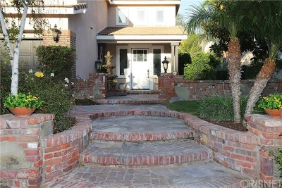 Stevenson Ranch Single Family Home For Sale: 26529 Brooks Circle