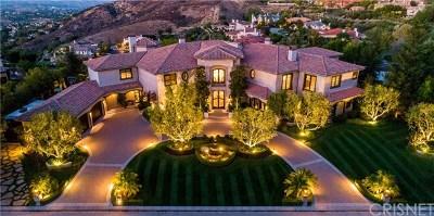 Brentwood, Calabasas, West Hills, Woodland Hills Single Family Home For Sale: 25315 Prado De Los Suenos