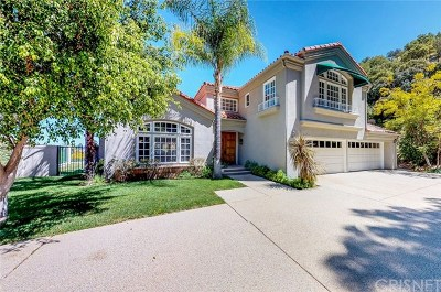Brentwood, Calabasas, West Hills, Woodland Hills Single Family Home For Sale: 3767 Paseo Primario