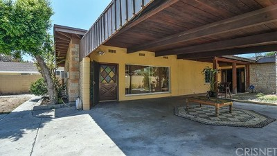 Valley Glen Single Family Home For Sale: 5653 Vantage Avenue