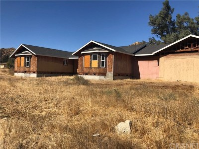Castaic Single Family Home Active Under Contract: 30703 San Martinez