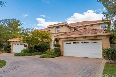 Palmdale Single Family Home For Sale: 41032 Woodshire Drive