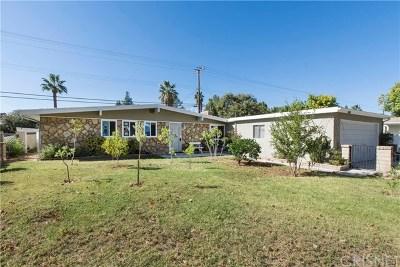 Saugus Single Family Home For Sale: 27325 Santa Clarita Road