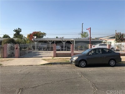 Pacoima Single Family Home For Sale: 12951 Eustace Street