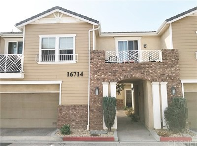 Sylmar Condo/Townhouse Active Under Contract: 16714 Nicklaus Drive #67