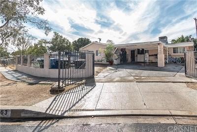 Pacoima Single Family Home For Sale: 11863 Phillippi Avenue