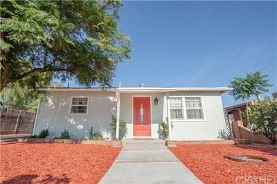 Pacoima Single Family Home For Sale: 10710 Ilex Avenue