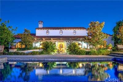 Brentwood, Calabasas, West Hills, Woodland Hills Single Family Home For Sale: 25599 Prado De Las Flores