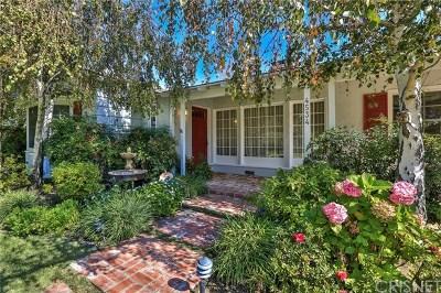 Studio City Single Family Home For Sale: 4534 Radford Avenue