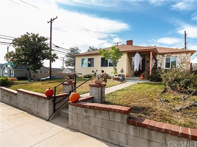 Burbank Single Family Home For Sale: 801 Birmingham Road