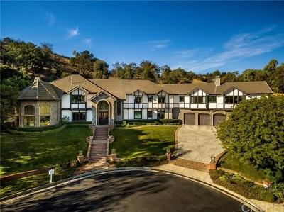 Calabasas Single Family Home For Sale: 5195 Parkway Calabasas