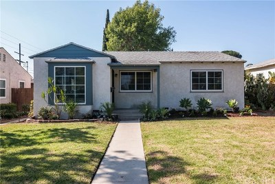 North Hollywood Single Family Home For Sale: 6607 Clybourn Avenue