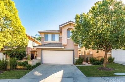 Castaic Single Family Home Active Under Contract: 27632 Primrose Lane