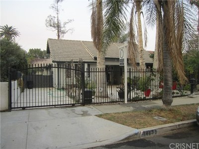 Sherman Oaks Single Family Home For Sale: 14639 Albers Street