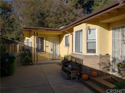 Valley Village Single Family Home For Sale: 11437 Riverside Drive