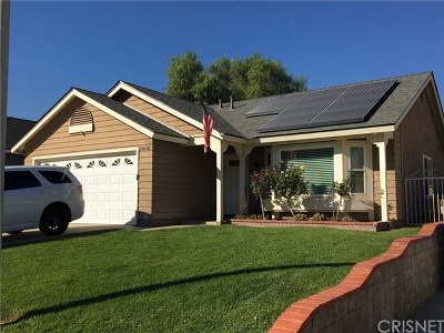 Castaic Single Family Home For Sale: 28481 Victoria Road