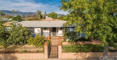 Sylmar Single Family Home For Sale: 14801 Envoy Street
