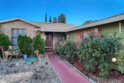Van Nuys Single Family Home For Sale: 14756 Leadwell Street