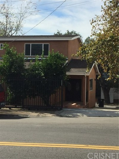 Tujunga Single Family Home For Sale: 10233 Tujunga Canyon Boulevard