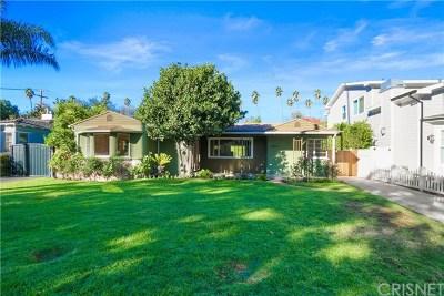 Studio City Single Family Home For Sale: 4431 Ethel Avenue